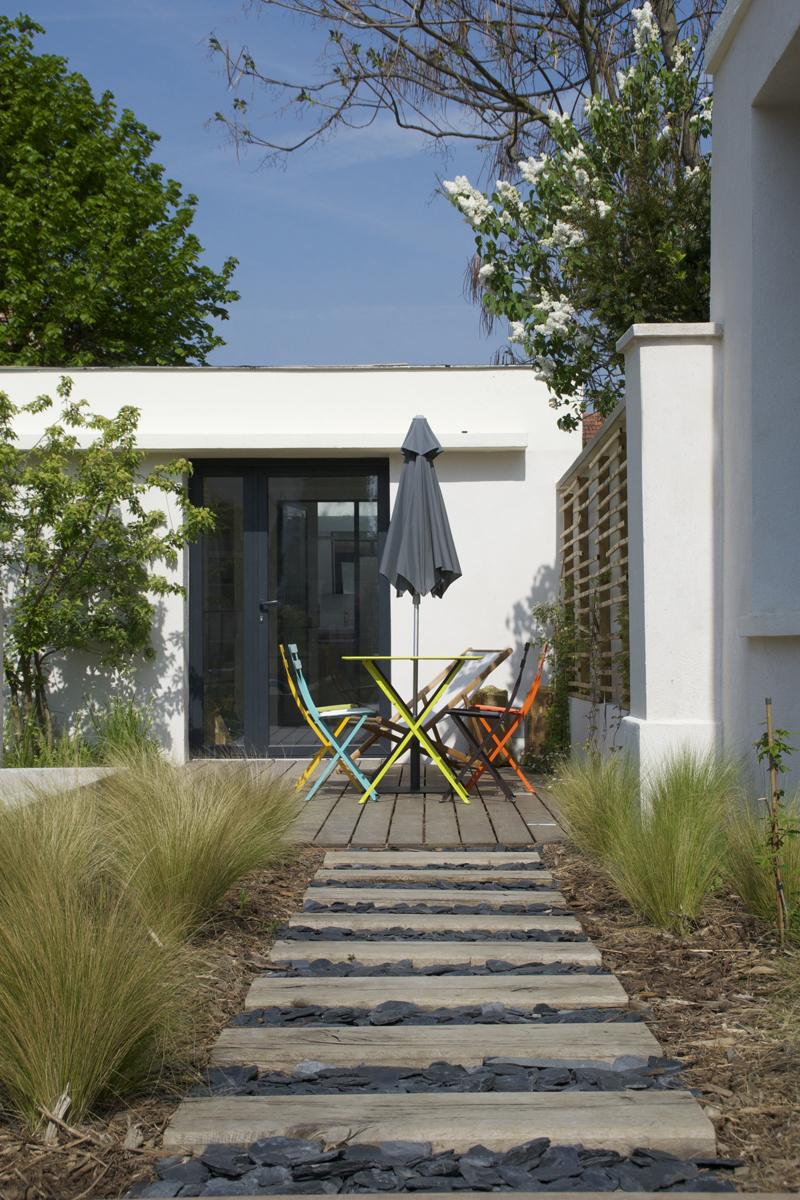 atelier dlv paysagiste concepteur paris bertrand de la vieuville reportage houzz atelier dlv. Black Bedroom Furniture Sets. Home Design Ideas