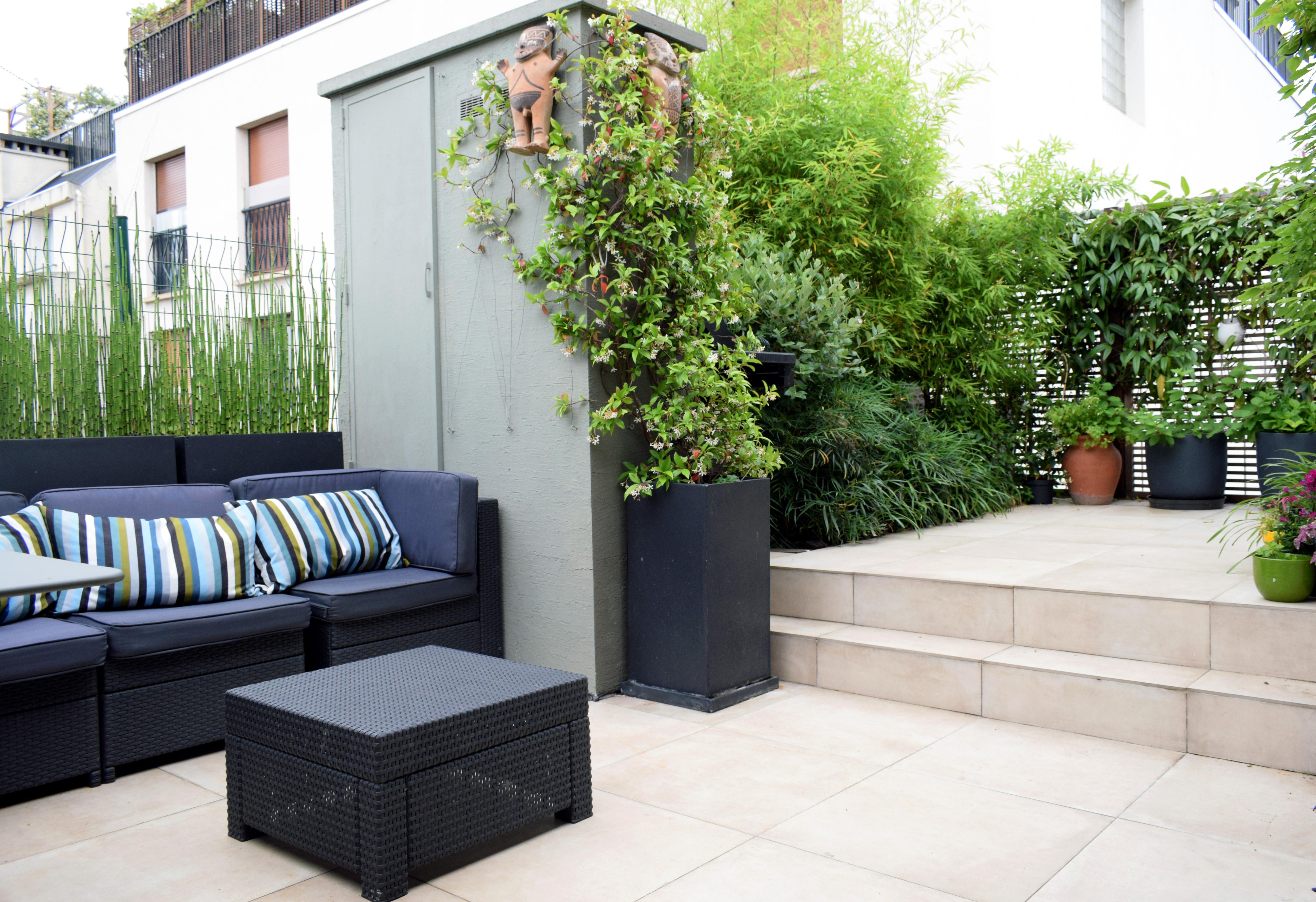 Terrasse salon_Neuilly sur Seine #1