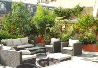 salon d'extérieur de l'ambassadeur, Atelier DLV, paysagiste concepteur, réalisation, terrasse, Paris